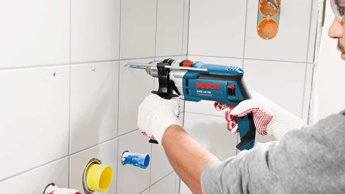 Taladro percutor Bosch Professional GSB 16 RE barato, taladros baratos, herramientas baratas, chollo