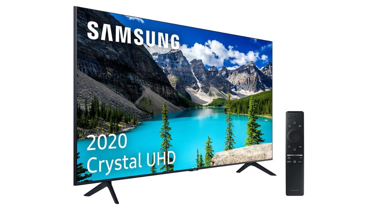 Televisor LED de 50 pulgadas Samsung UE50TU8005 4K barato, televisores baratos, chollo