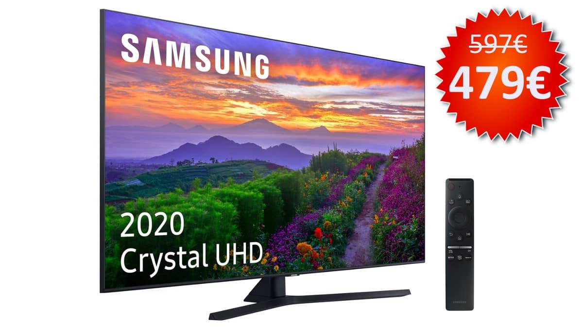 Televisor Samsung UE50TU8505 de 50 pulgadas barata, televisores baratos, chollo