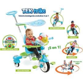 Triciclo inteligente evolutivo VTech barato, juguetes baratos, ofertas para niños