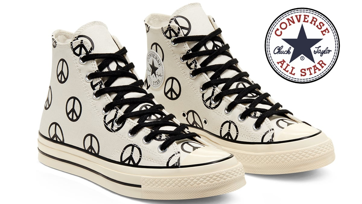 Zapatillas Converse Hi Peace baratas, calzado de marca barato, ofertas en zapatillas deportivas chollo