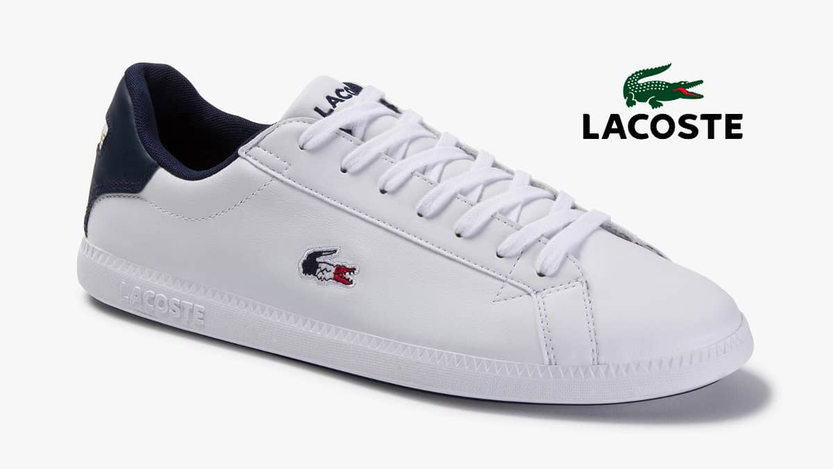 Zapatillas Lacoste Graduate baratas, calzado de marca barato, ofertas en zapatillas deportivas chollo