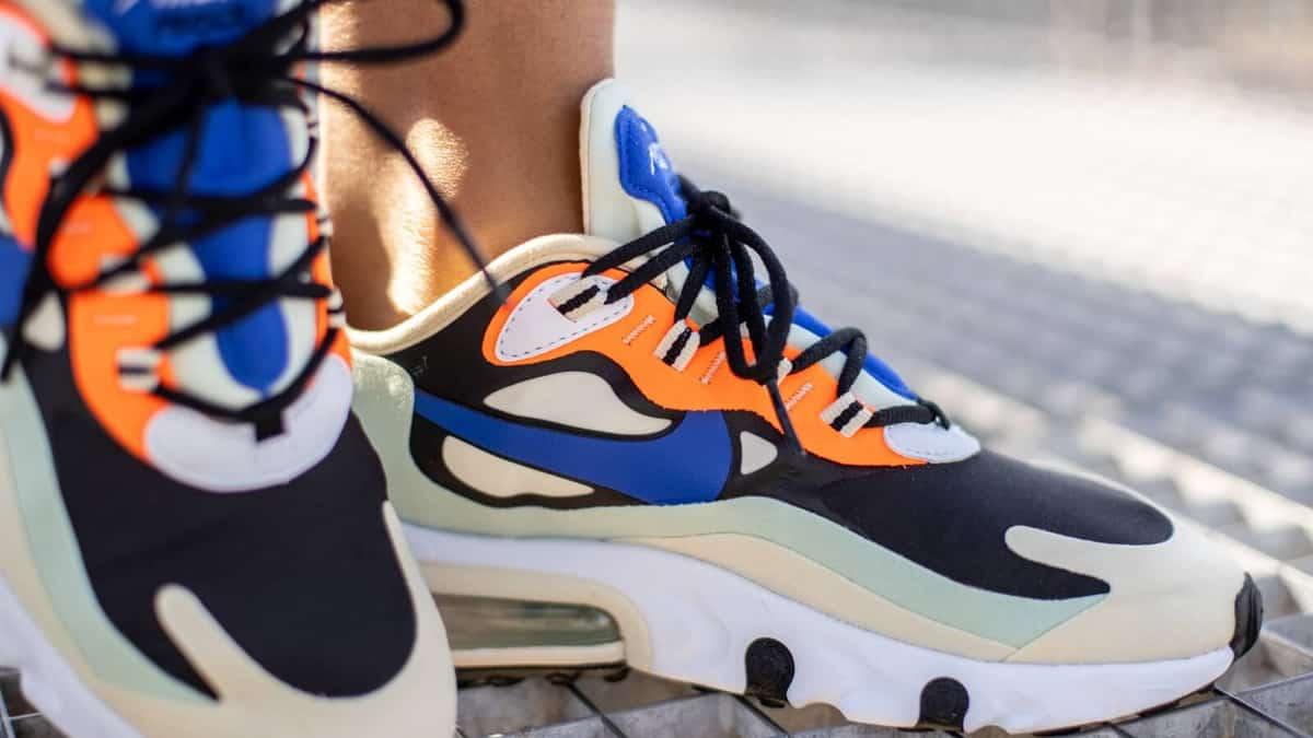 Zapatillas Nike Air Max 270 React baratas, calzado barato, zapatillas de marca baratas chollo