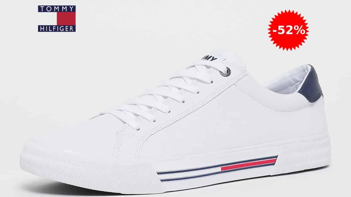 Zapatillas de piel para hombre Tommy Hilfiger Essential Dale baratas, zapatillas de marca baratas, ofertas en calzado, chollo