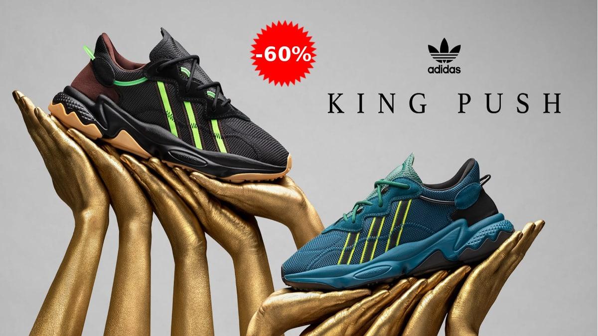 Zapatillas para mujer Adidas Pusha T Ozweego baratas, zapatillas de marca baratas, ofertas en calzado, chollo