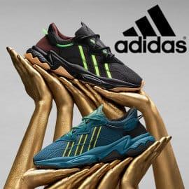Zapatillas para mujer Adidas Pusha T Ozweego baratas, zapatillas de marca baratas, ofertas en calzado