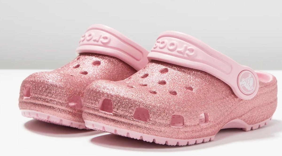 Zuecos infantiles Crocs Classic Glitter Clog baratos. Ofertas en calzado, calzado barato, chollo