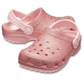 Zuecos infantiles Crocs Classic Glitter Clog baratos. Ofertas en calzado, calzado barato