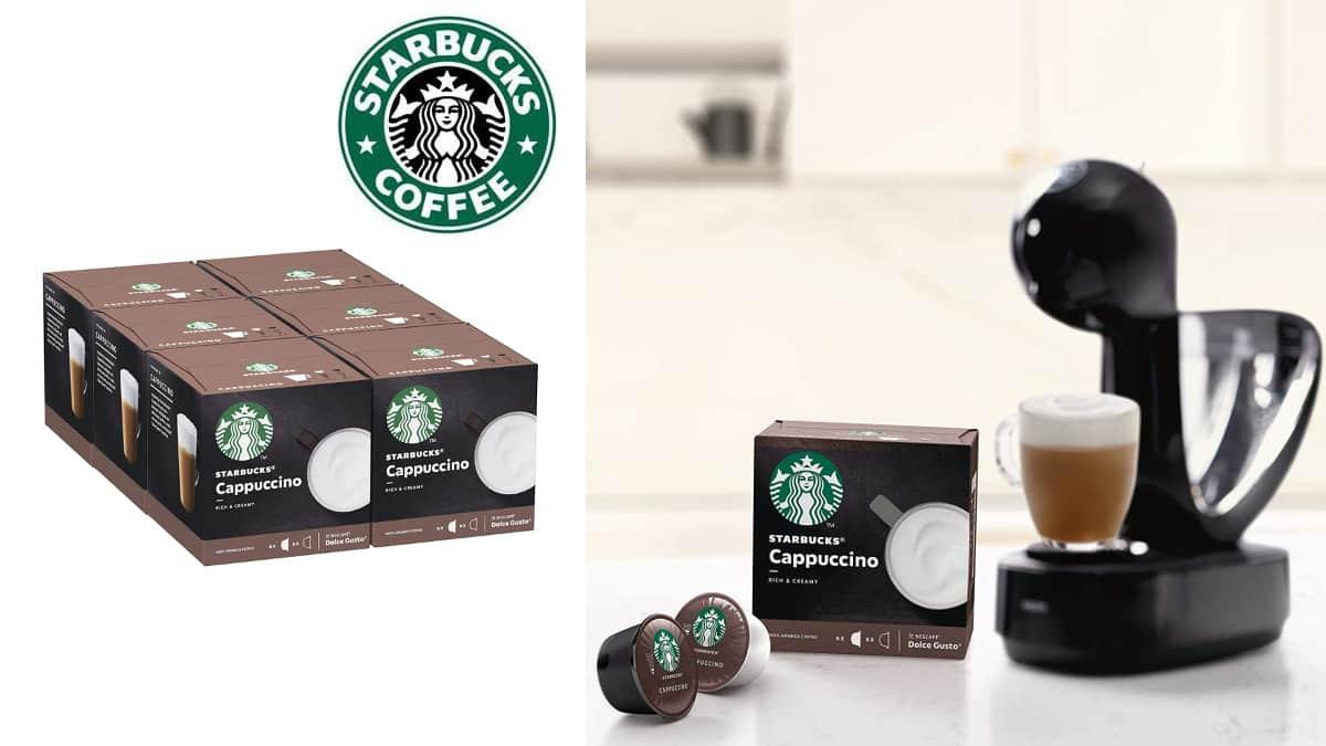 cápsulas STARBUCKS Cappuccino para Dolce Gusto