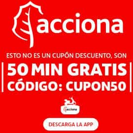 50 minutos gratis en alquiler de motos con Acciona