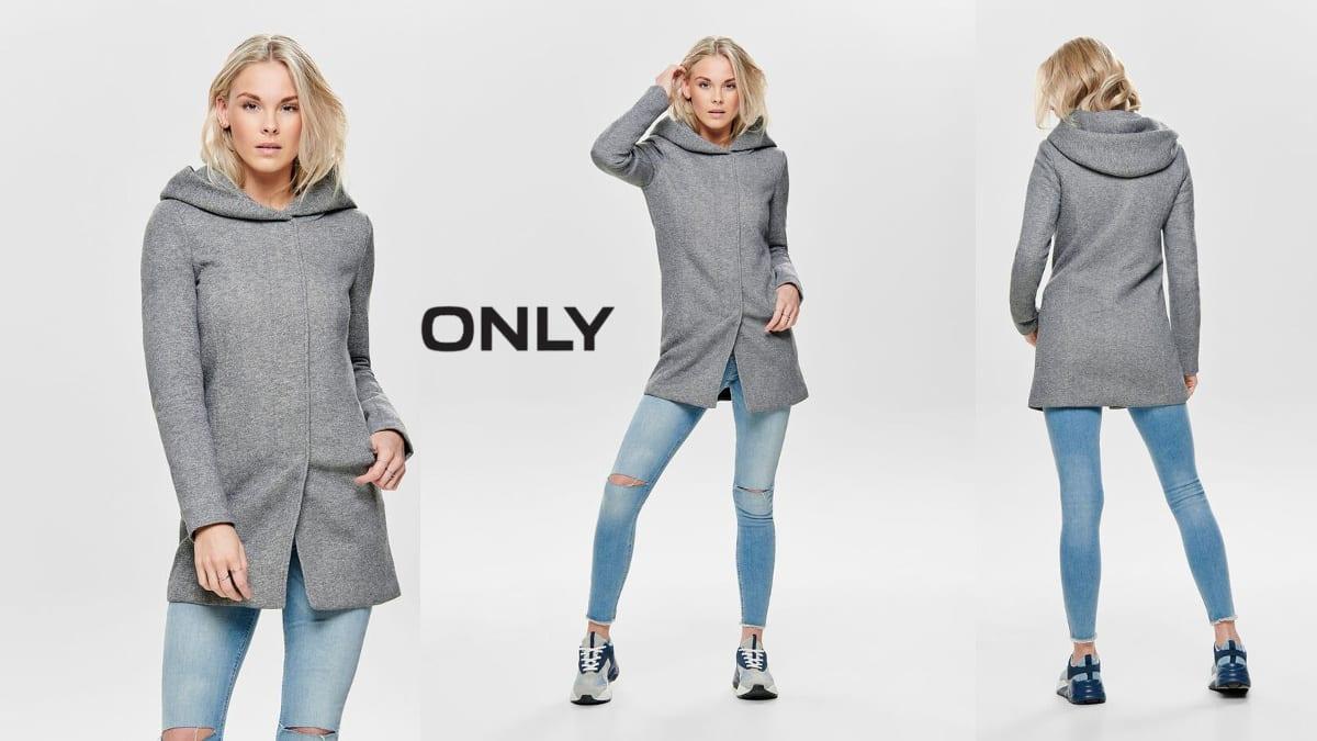 Abrigo Only Onlsedona Clásico barato, abrigos de marca baratos, ofertas en ropa, chollo