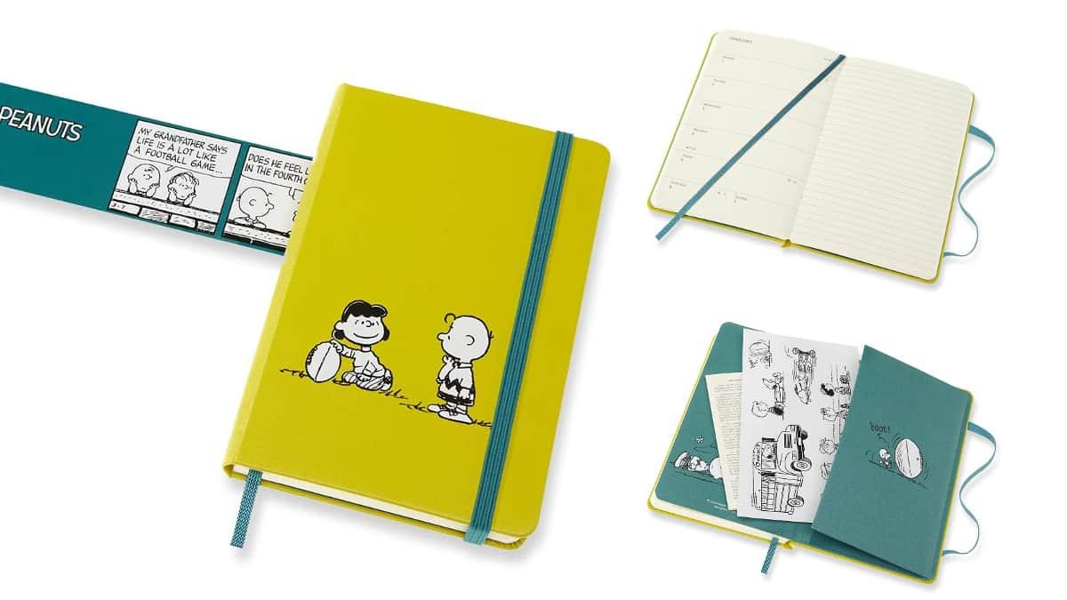 Agenda Moleskine Snoopy barata, agendas baratas, ofertas en libros chollo