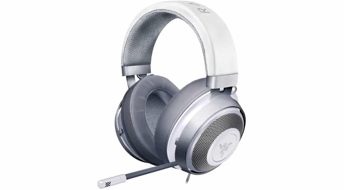 Auriculares gaming Razer Kraken Mercury baratos, auriculares gaming baratos
