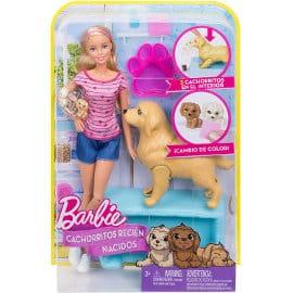 Barbie y sus perritos sorpresa barata, muñecas baratas, ofertas en juguetes