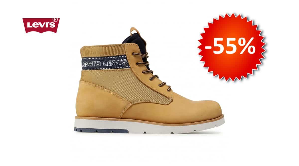 Botines para hombre Levis Jax Xlite baratos, calzado barato, botines baratos, chollo