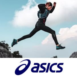 Campaña de running Asics en Private Sport Shop