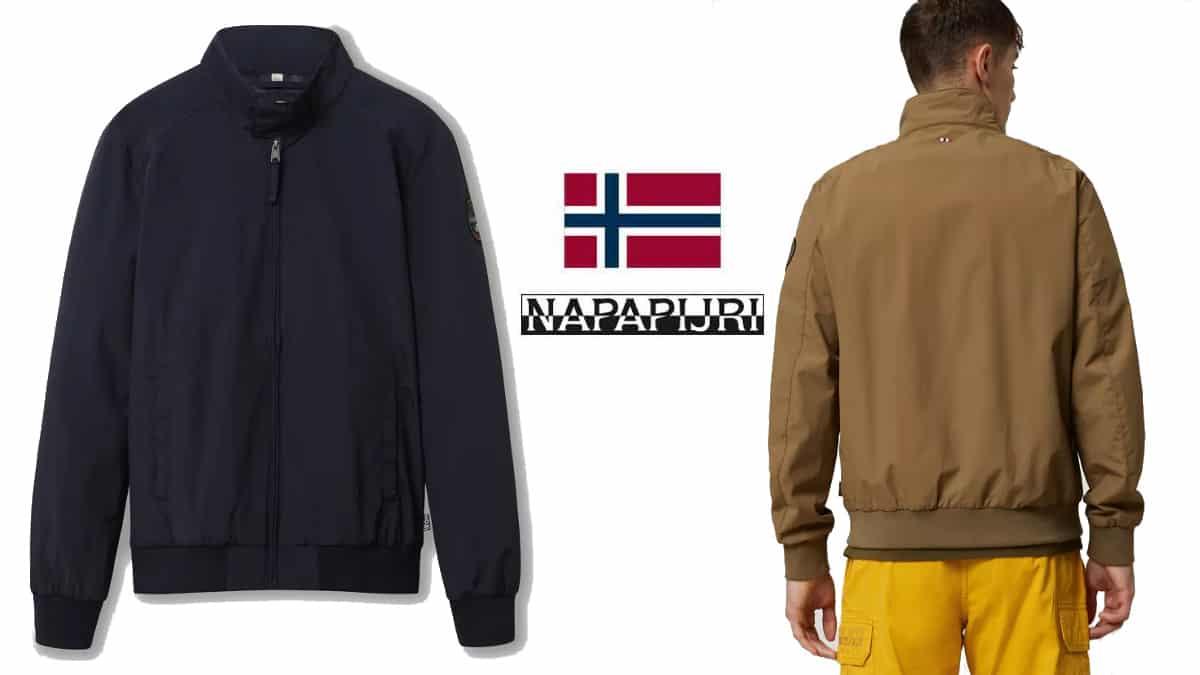 Chaqueta Napapijri Agard barata, ropa de marca barata, ofertas en chaquetas chollo