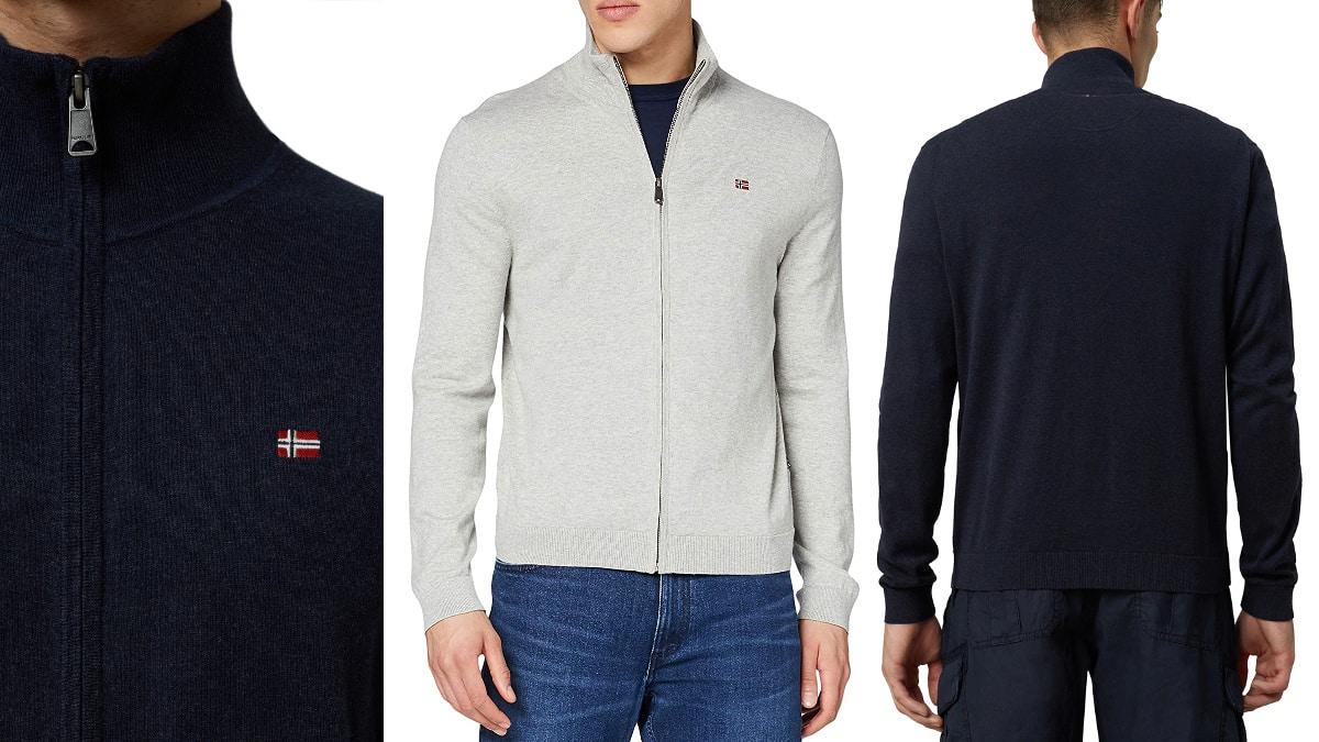 Chaqueta Napapijri Decatur barata, ropa de marca barata, ofertas en chaquetas chollo