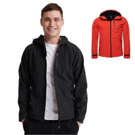 Chaqueta Superdry Hooded Softshell barata, chaquetas de marca baratas, ofertas en ropa