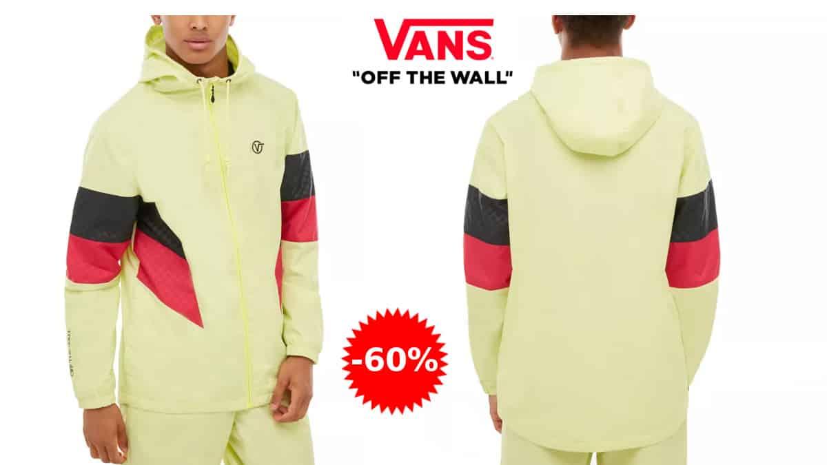Chaqueta cortavientos Vans Inside barata, chaquetas baratas, ofertas en ropa de marca, chollo