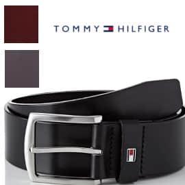 Cinturón para hombre Tommy Hilfiger New Denton, cinturones de marca baratos, ofertas ropa