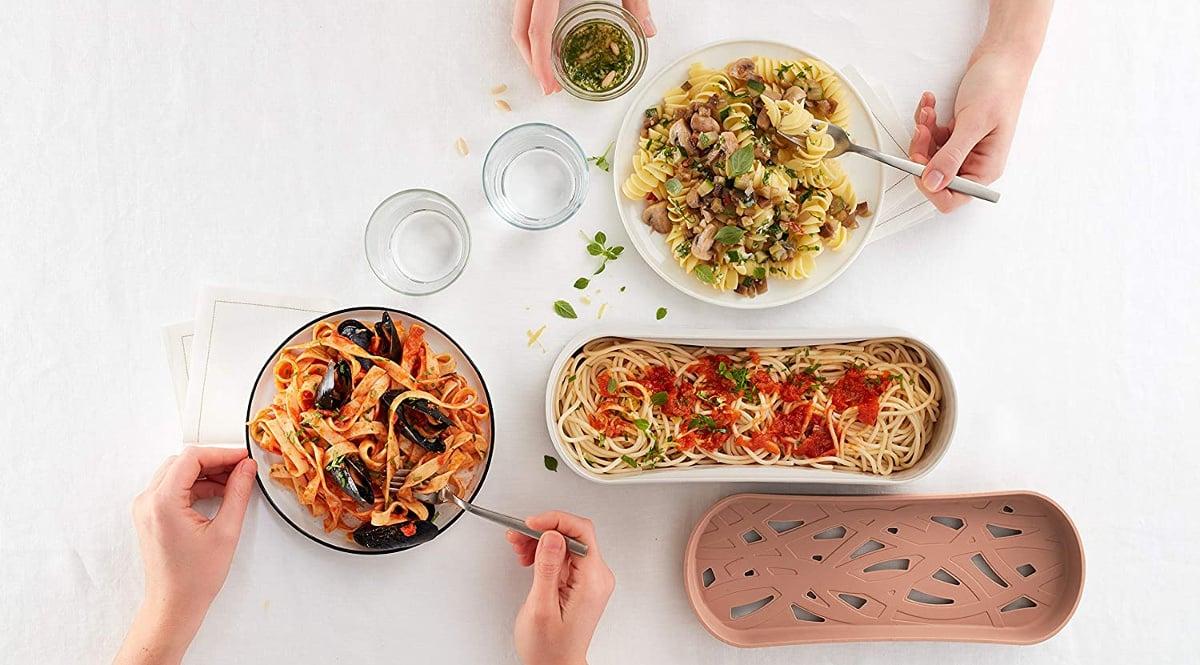 Cocedor de pasta Lékué barato, cocedores para microondas de marca baratos, ofertas hogar y cocina, chollo