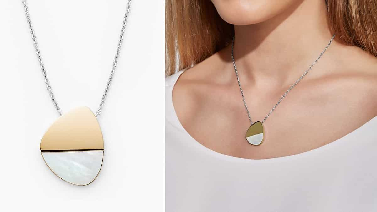 Collar Skagen Agnethe barato, joyas baratas, ofertas en collares chollo