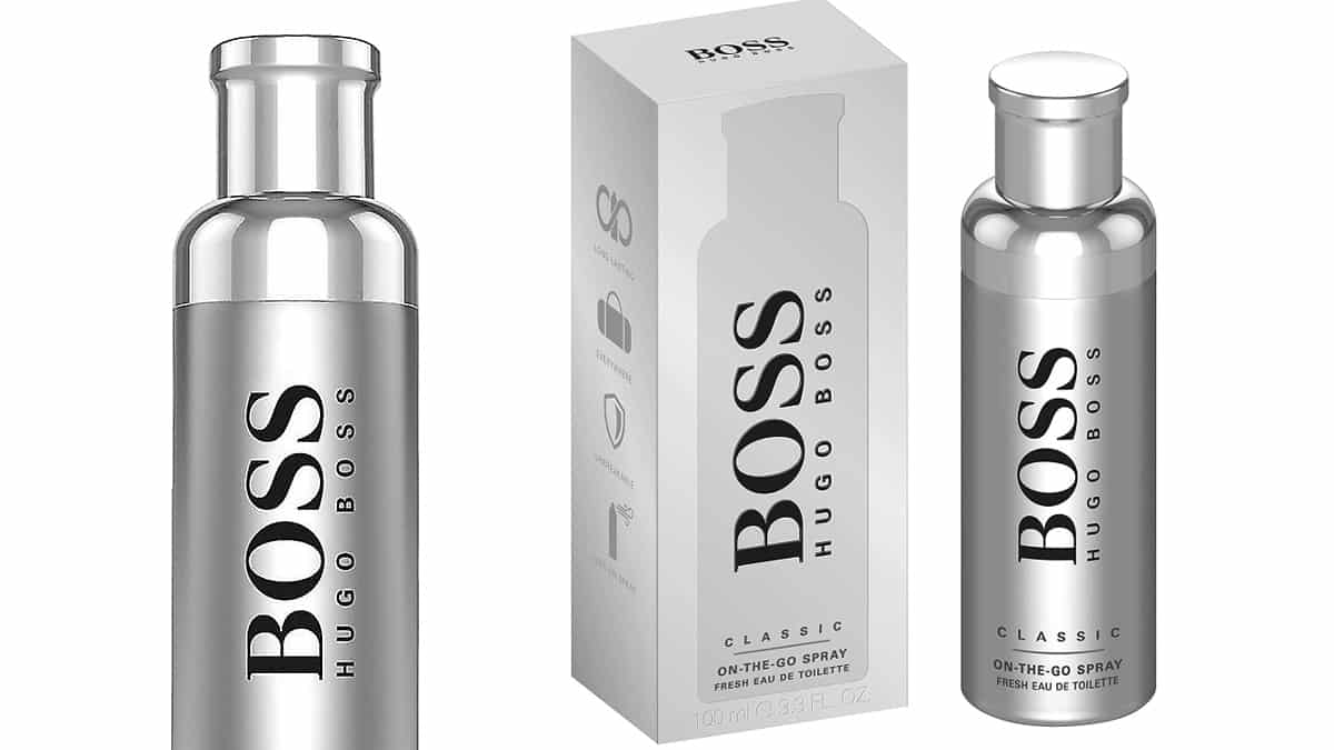 Colonia Boss Bottled On The Go barata, colonias baratas, ofertas para ti chollo