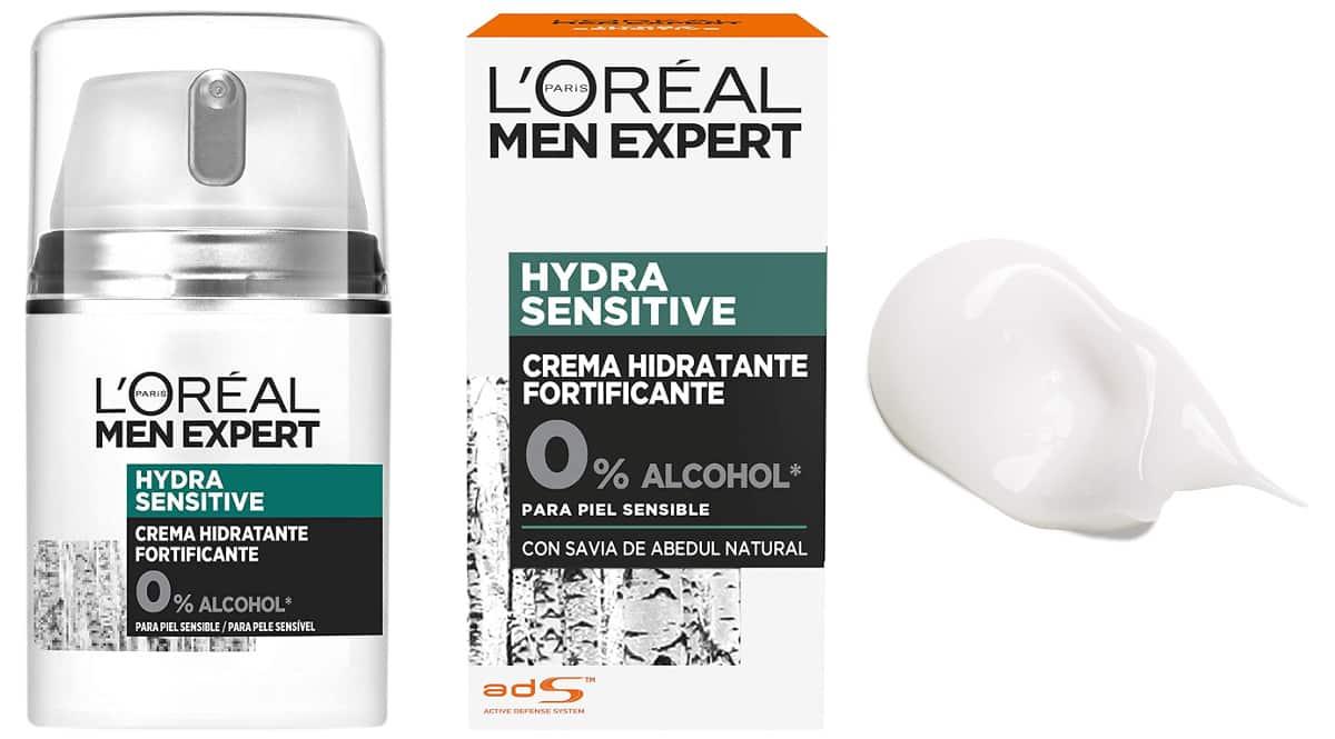 Crema L'Oreal Paris Men Expert Hydra Sensitive barata, cremas baratas, ofertas para ti chollo
