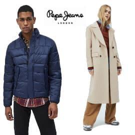 DEscuentos en ropa, calzado y complementos Pepe Jeans, ropa de marca barata, ofertas en ropa