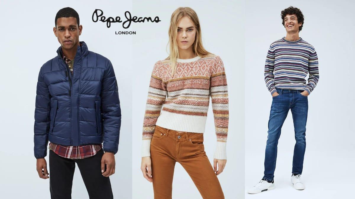 DEscuentos en ropa, calzado y complementos Pepe Jeans, ropa de marca barata, ofertas en ropa,chollo