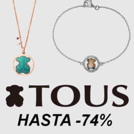 Decuentos en Tous, joyas baratas, ofertas en joyería