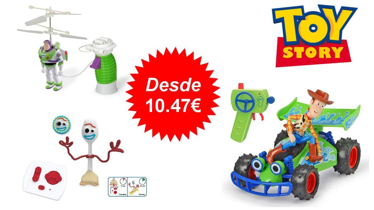 Descuento exclusivo en una selección de juguetes de Toy Story, juguetes baratos, ofertas para niño, chollo