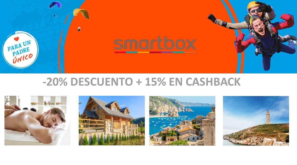 Descuentos en Smarbox,escapadas baratas, ofertas en viajes, chollo