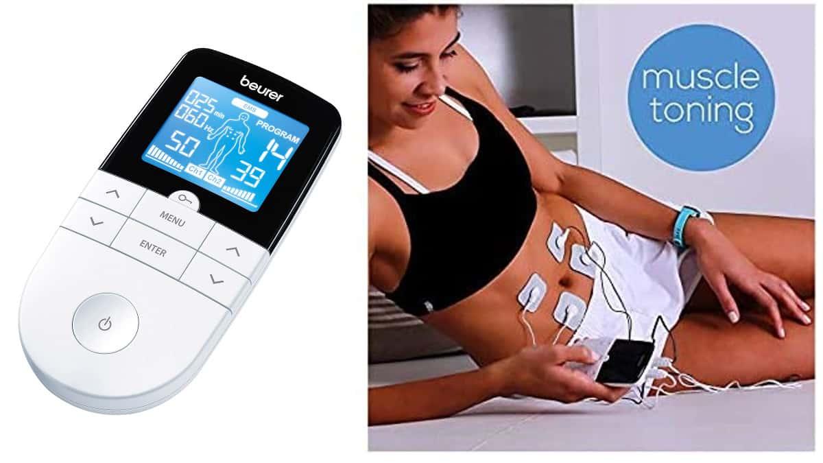 Electroestimulador Beurer EM-49 digital barato, electroestimuladores de marca baratos, ofertas cuidado personal, chollo