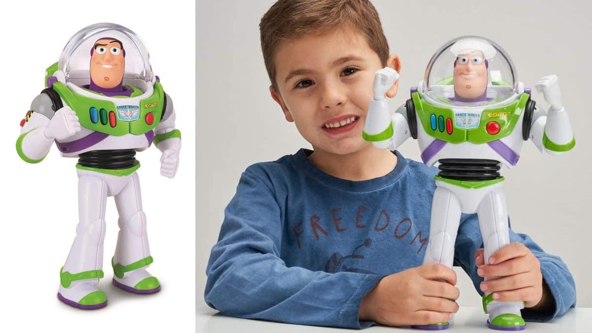 Figura articulada con voz Buzz Lightyear barata, juguetes baratos, ofertas para niños chollo