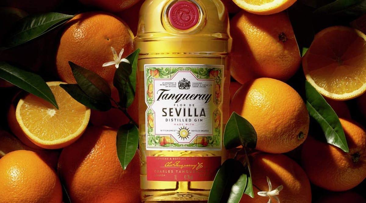 Ginebra Tanqueray Flor de Sevilla barata. Ofertas en ginebras, ginebras baratas, chollo