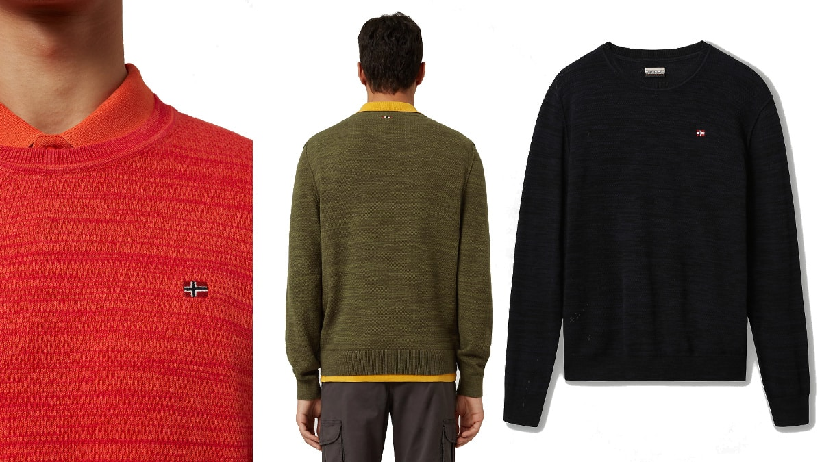 Jersey Napapijri Dueville barato, ropa de marca barata, ofertas en jerseis chollo
