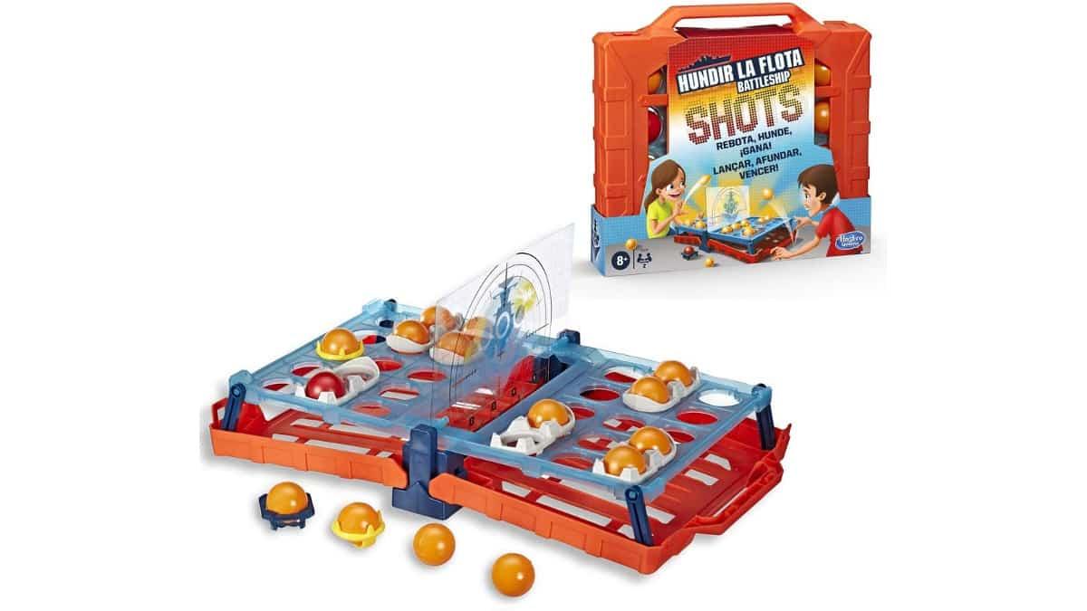Juego Hundir la Flota Shots barato, juguetes baratos, ofertas para niños, chollo