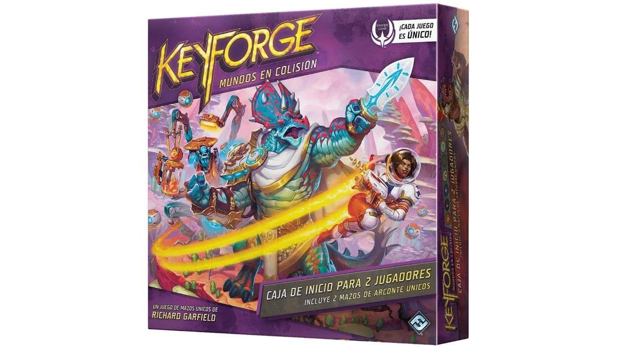 Juego de cartas Keyforge Mundos en Colisión barato, juegos de cartas baratos, chollo