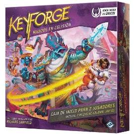 Juego de cartas Keyforge Mundos en Colisión barato, juegos de cartas baratos