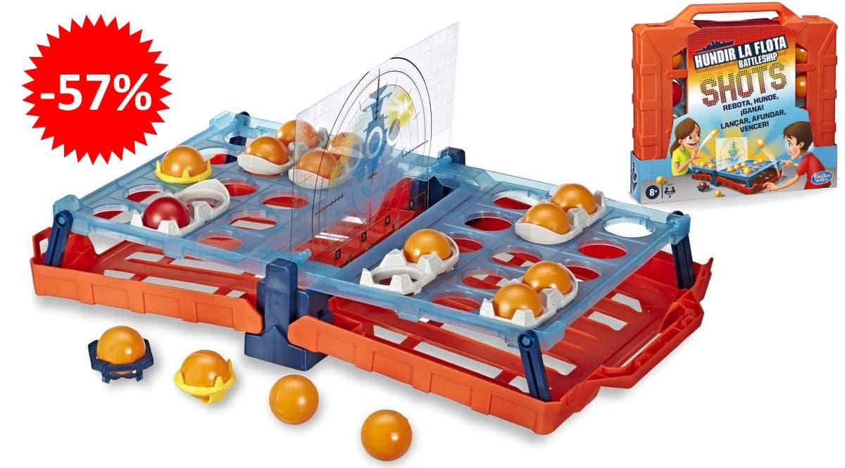 Juego de estrategia Hundir La Flota Shots barato, juguetes baratos, ofertas para niños