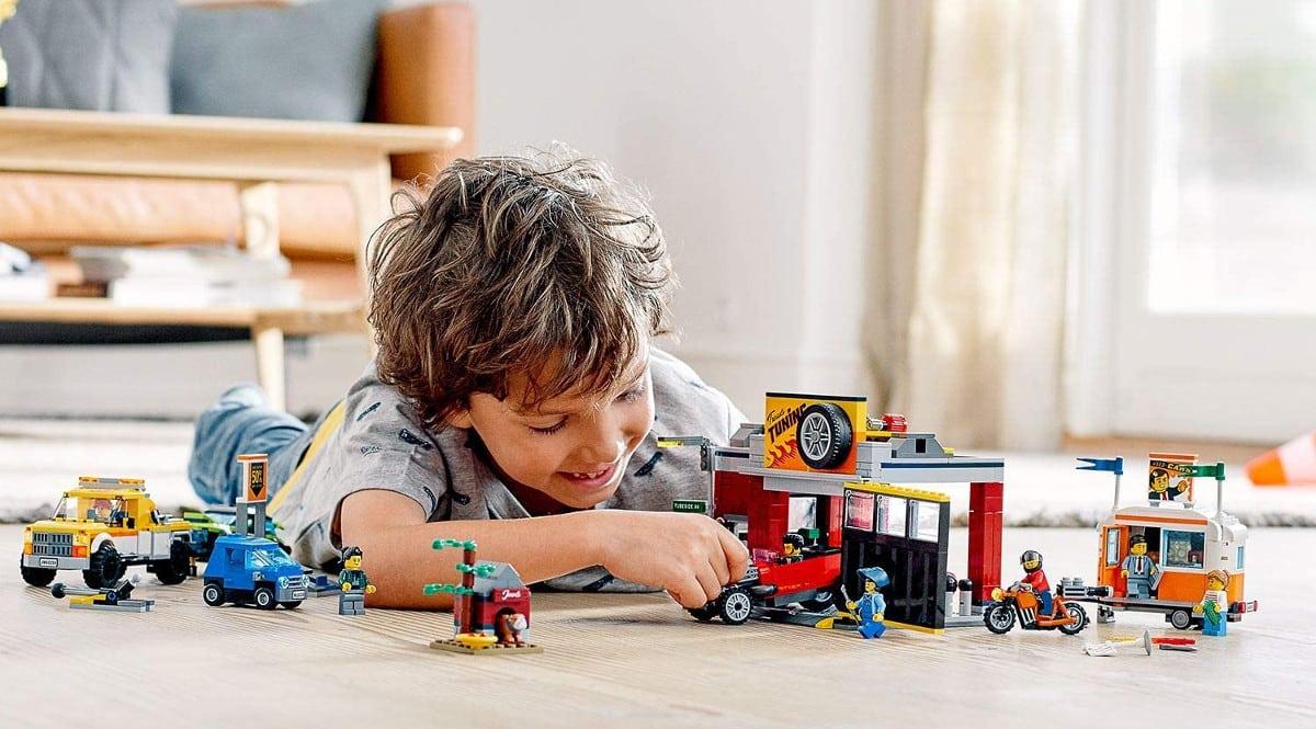 Juguete LEGO City Turbo Wheels Taller de Tuneo barato. Ofertas en juguetes, juguetes baratos, chollo