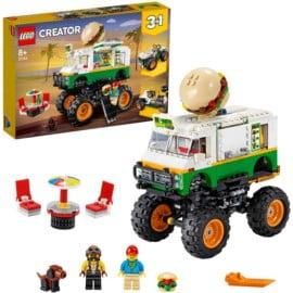 Juguete LEGO Monster Truck Hamburguesería barato. Ofertas en juguetes, juguetes baratos