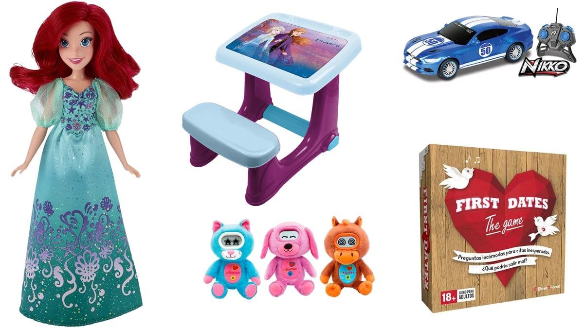 Juguetes baratos en Rey Mago, juguetes y juegos de marca baratos, ofertas para niños, chollo
