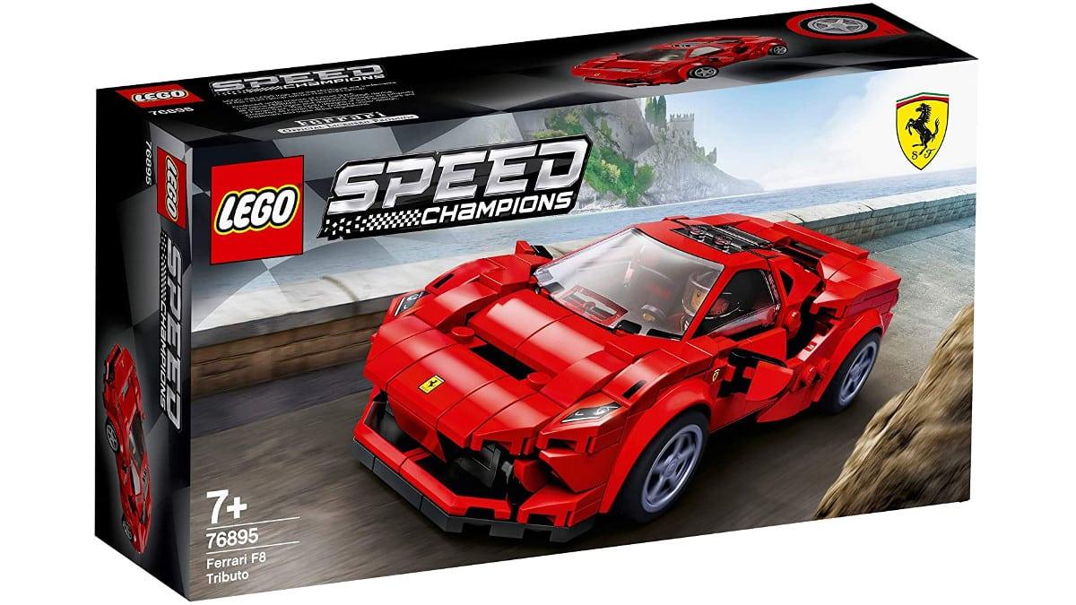 LEGO Speed Champions Ferrari F8 Tributo barato, LEGO baratos, chollo