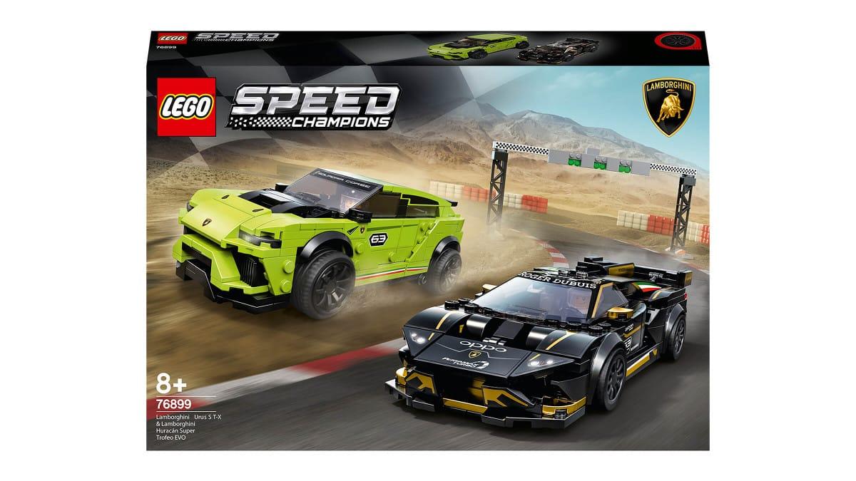 LEGO Speed Champions Lamborghini Urus y Huracán barato, LEGO baratos, juguetes baratos, chollo