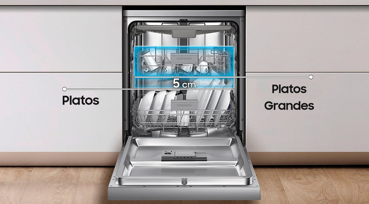 Lavavajillas Samsung DW60M6050FS barato. Ofertas en electrodomésticos, electrodomésticos baratos, chollo