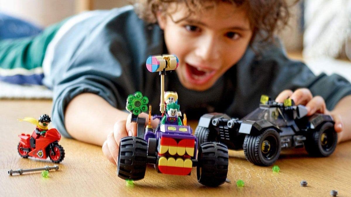 Lego Batman Persecución De La Trimoto Del Joker barato, juguetes baratos, ofertas para niños chollo
