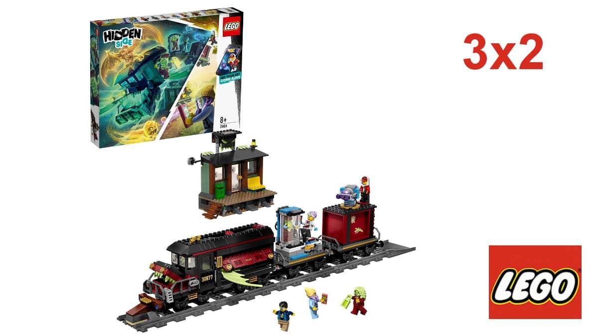 Lego Expreso Fantasma, juguetes baratos, ofertas para niños, chollo